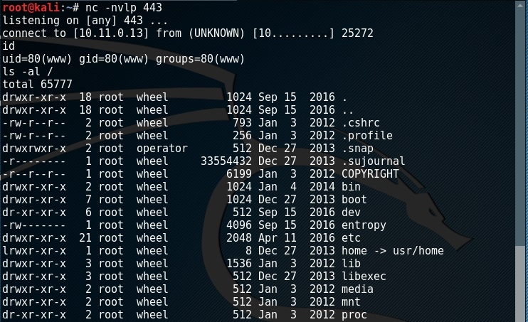 Using netcat without -e ∼ Keuper ICT